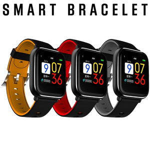 Hot Q58S Smart Bracelet Full Touch Screen Waterproof Blood Pressure Heart Rate Sports Fitness Tracker Smart Watch