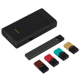 E-CIG PORTABLE CHARGER + POD HOLDER + USB CHARGING PORT