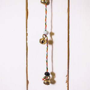 Small Bead And Bell On String