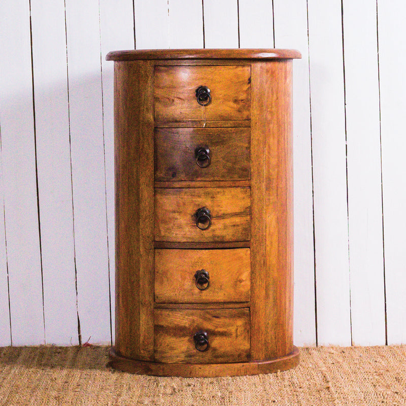 Oval 5 Drawer