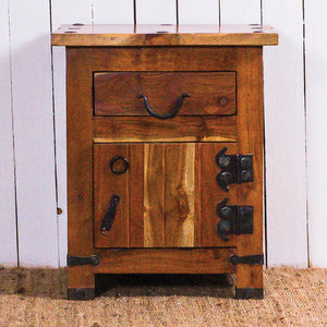 Rustic bedside table the ugly duckling rustic bedside table watchthetrailerfo