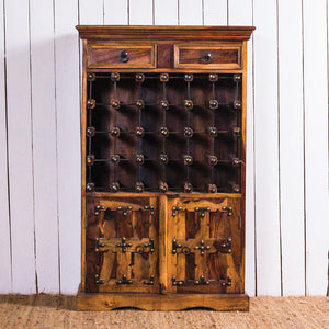 24 Bottle Wire Wine Rack