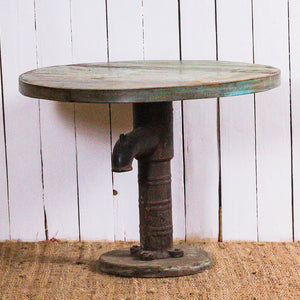 Small Round Hand Pump Table