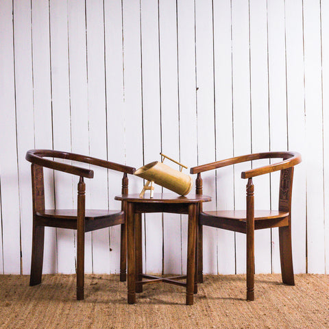3 Piece Table & Chair Set