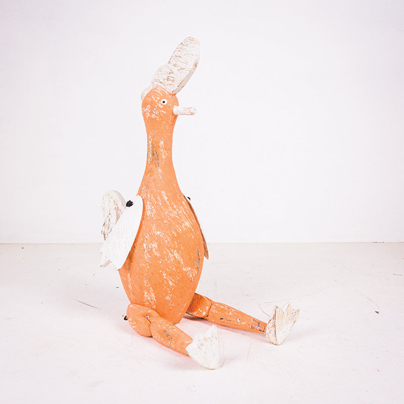 25cm Joint Leg Bottle Chicken Orange