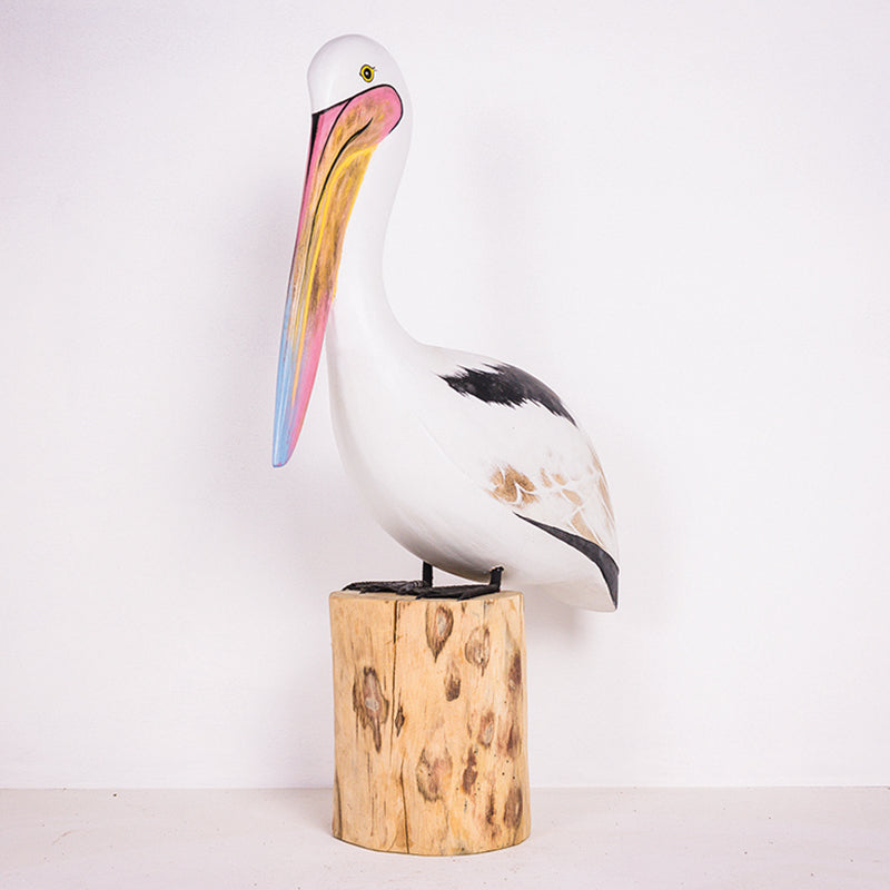 M 25cm Pelican On Wood