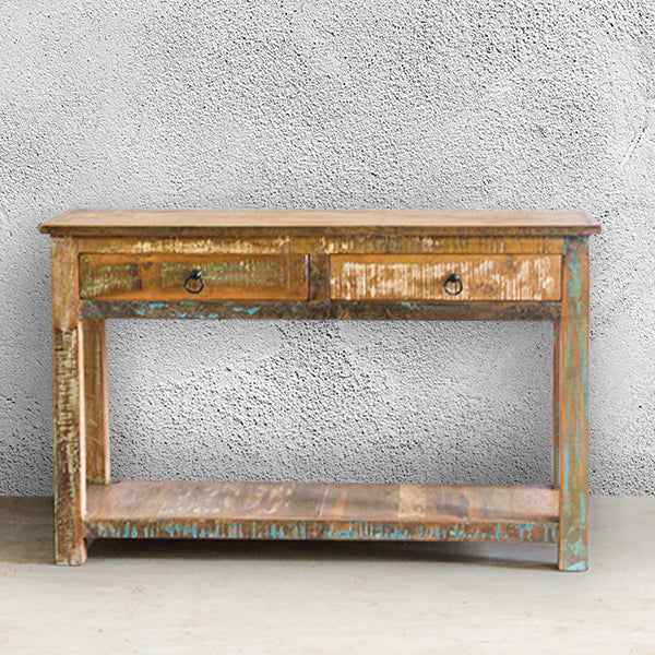 RAM 2 Drawer Console Table