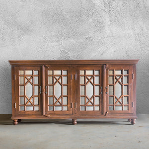76 Glass Sideboard