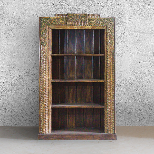 PR Carved Bookcase