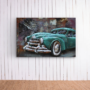 Vintage Car Metal Frame