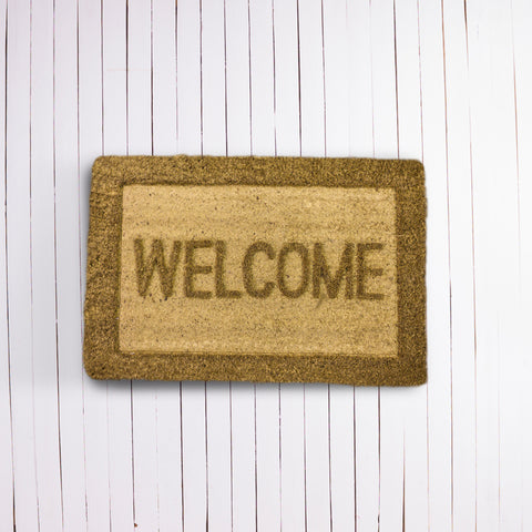 Welcome Coir Mat