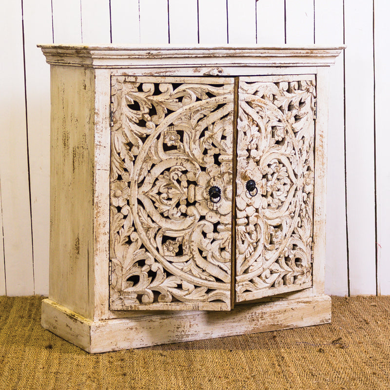 LY Carved 2 Door Sideboard