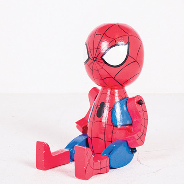 Round Joint Leg Spiderman Baby