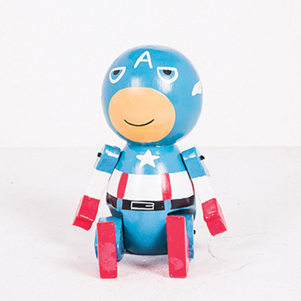 Round Joint Leg Captain America Baby