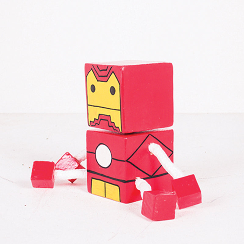 Small Joint Leg Iron Man Square