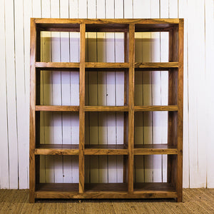 Acana 12 Column Thick Frame Bookshelf