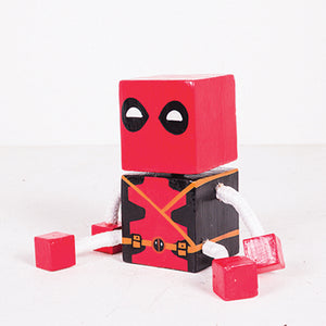 Small Joint Leg Deadpool Square