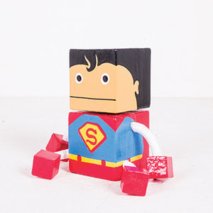 Small Joint Leg Superman Square