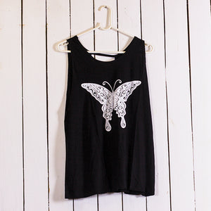 Butterfly Open Back Top