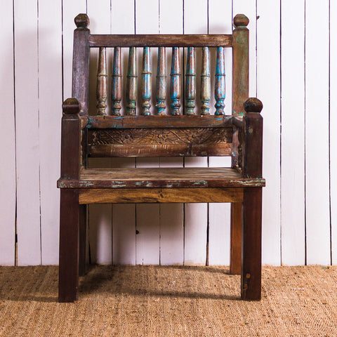 9 Rod Wooden Chair 154