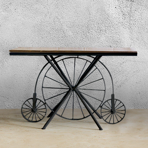 RAM 3 Wheel Console Table – Black