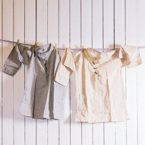 Cotton Tops With Button