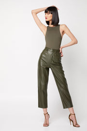 The Before You Go Bodysuit - Olive