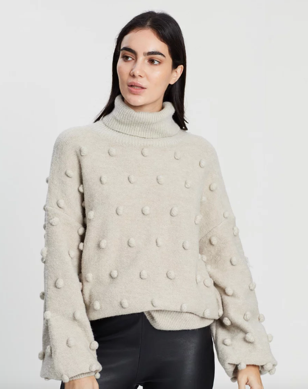 Josette Knit Sweater Natural
