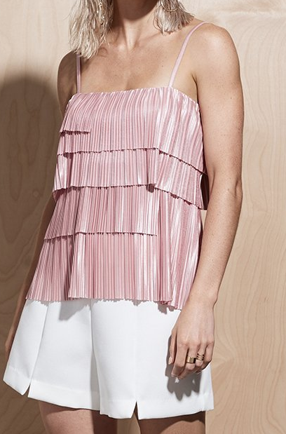 Illume Pleat Cami