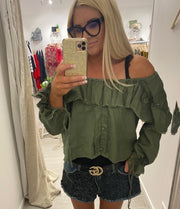 Milu Off Shoulder Top