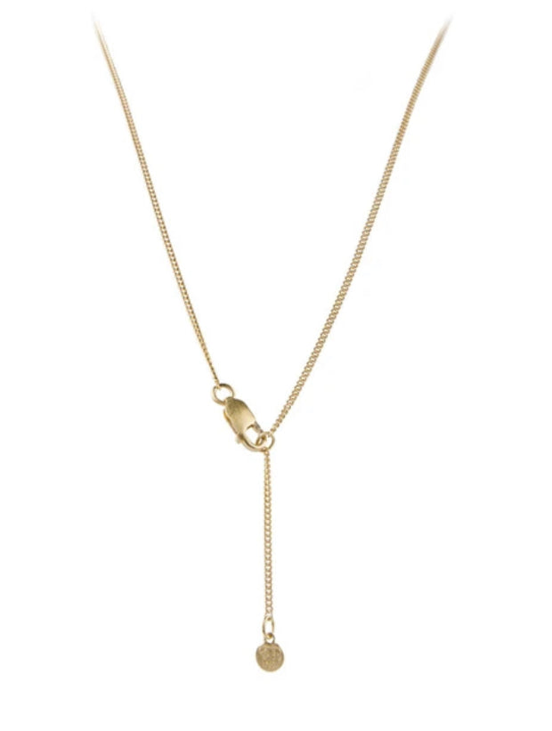 TAG NECKLACE GOLD      FAIRLEY