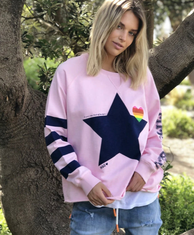 Retro Sweat - Pink