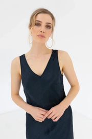 Queenie Slip Dress Plain