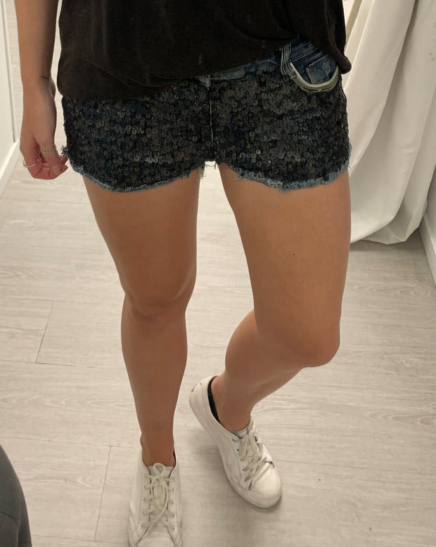 UK - Seq Denim Shorts