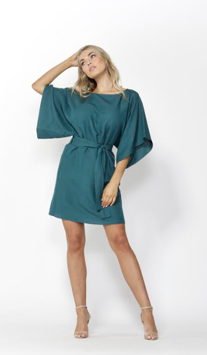 Easy Distraction Dress - Jade