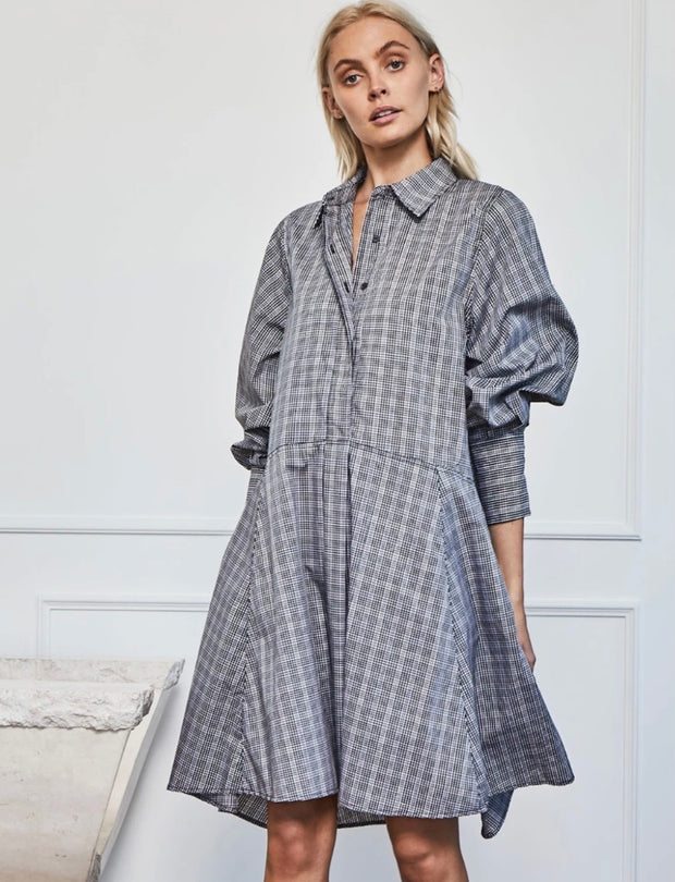 Channel Dress - Gingham