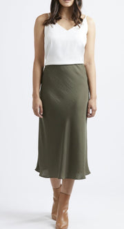 Milan Bias Cut Skirt