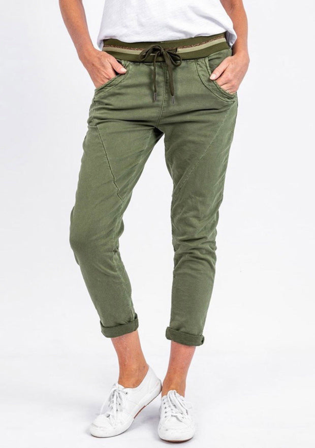 Ralph Jogger -BLACK or KHAKI