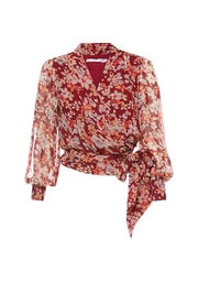 Romantic Legacy Wrap Top