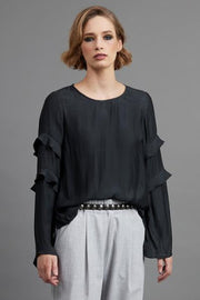 Luna Top -Black