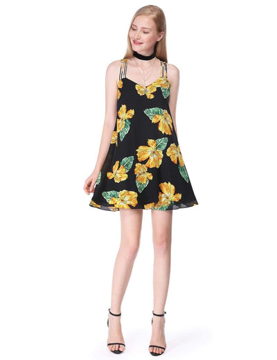Alisa Pan Flowy Floral Summer Dress