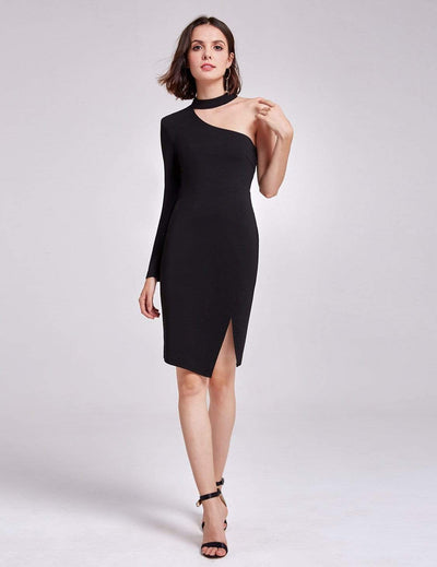 Alisa Pan One Shoulder Short LBD