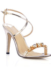 Show Story Women'S Fashion Rhinestone High Heels-Gold  1