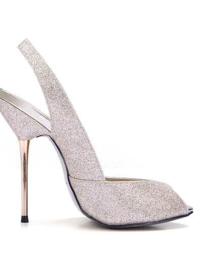 Show Story Shiny Wedding Party High Heels