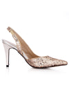 Show Story Sequin Wedding Party High Heels-Gold  1