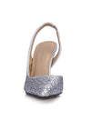 Show Story Sequin Wedding Party High Heels-Silver  4