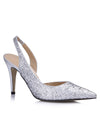 Show Story Sequin Wedding Party High Heels-Silver  1