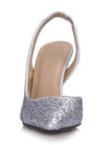 Show Story Sequin Wedding Party High Heels-Silver  5