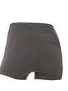 Classic High Waist Fitness Yoga Shorts For Women-Grey 2