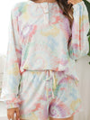 Women'S Casual Tie-Dye Pajamas Loungewear Set-Multicolor 5